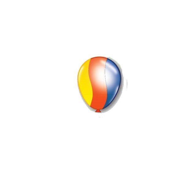 Globos de latex con helio surtido