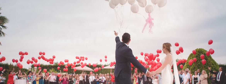 eventos suelta de globos con helio