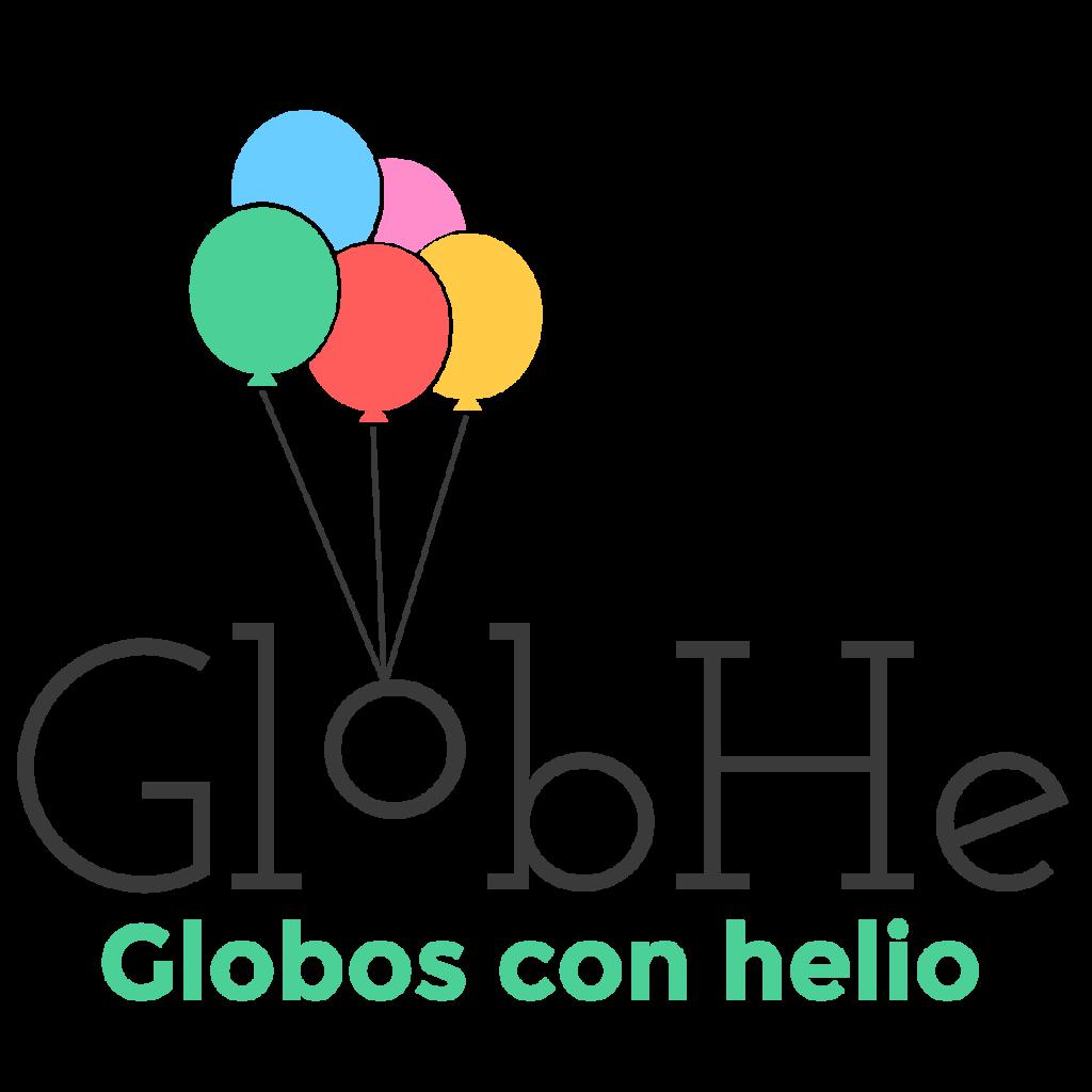 Logo de GlobHe globos con helio